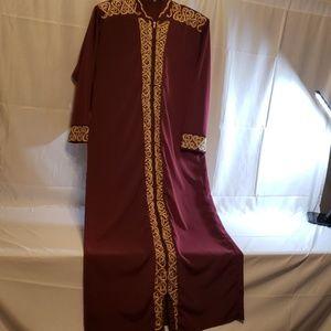 🎁FlLASH SALE VINTAGE 1990'S EMBROID LONG DRESS